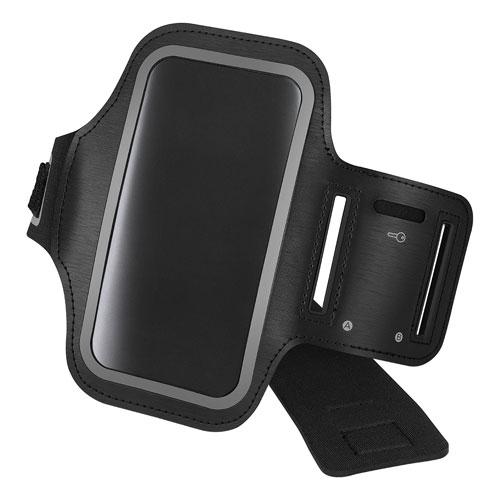 Brassard d'Insignia pour iPhone 7/8 ou Galaxy S7 de Samsung - Noir