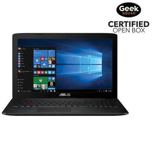 "ASUS ROG GL552 15.6"" Laptop - ROG Metallic (Intel Core i7-6700HQ/1TB HDD/16GB RAM) -English-Open Box"