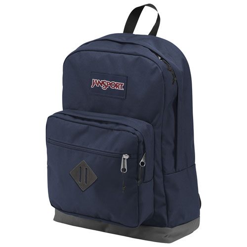 f7f452803485 JanSport City Scout Laptop Backpack - Navy   Backpacks - Best Buy Canada