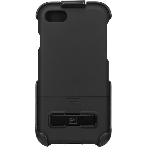 Platinum iPhone 7/8 Fitted Hard Shell Case - Black
