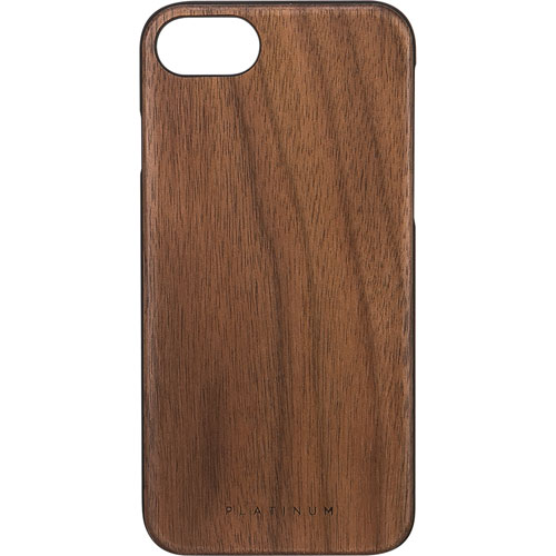 Platinum iPhone 7/8 Fitted Hard Shell Case - Brown