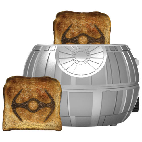 Pangea Star Wars Death Star Toaster 2 Slice Silver