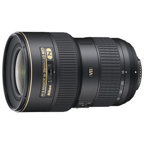 Nikon AF-S NIKKOR 16-35mm f/4G ED VR Lens - Refurbished