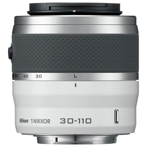 Objectif VR NIKKOR 30 à 110 mm f/3,8-5,6 Nikon 1 - Blanc - Remis à neuf