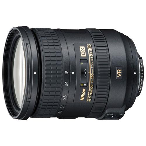 Objectif AF-S DX VR II18-200 mm f/3,5-5,6G ED NIKKOR de Nikon - Remis à neuf