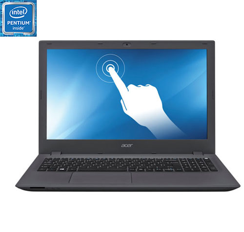 "Acer Aspire E 15.6"" Touchscreen Laptop - Black (Intel Pentium N3700/500GB HDD/4GB RAM/Windows 10)"