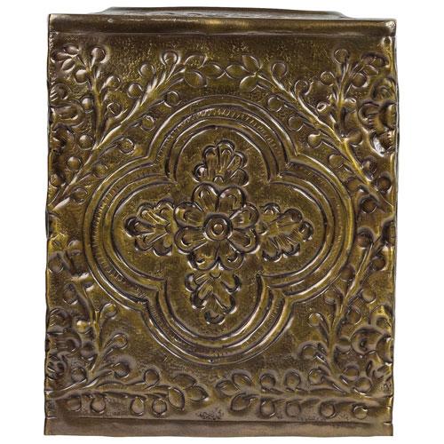 Boîte cache-mouchoirs Canterbury de St. Pierre - Doré antique
