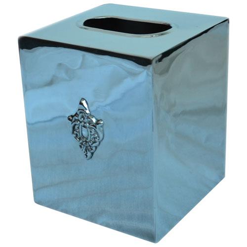 St. Pierre Classique Tissue Box - Silver