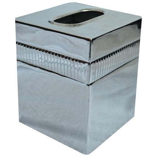 St. Pierre Moderne Tissue Box - Silver