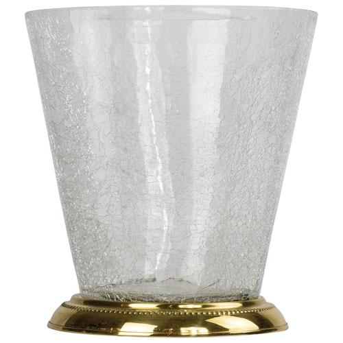 St. Pierre Saxony Wastebasket - Gold