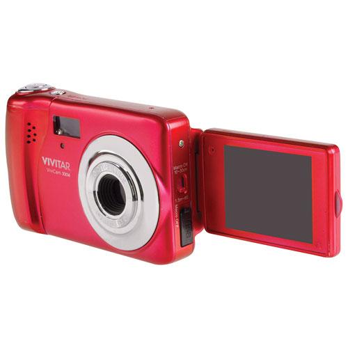Appareil photo numérique VXX14 de 20 Mpx avec zoom optique 4x de Vivitar - Rouge