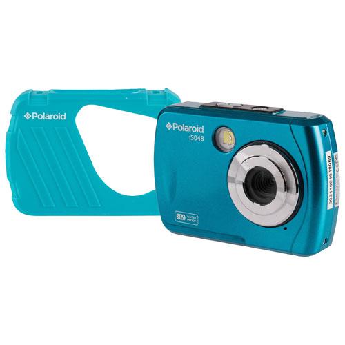 Polaroid iSO48 Waterproof 16MP 4x Optical Zoom Digital Camera - Teal