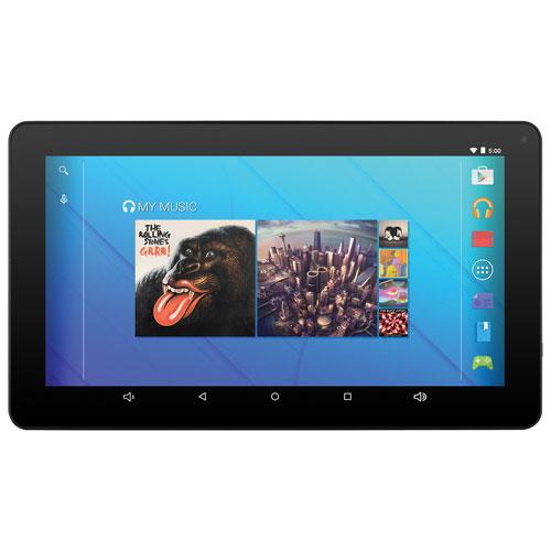 Tablette 10,1 po 16 Go Android 5.0 d'Ematic à processeur quadruple coeur d'Intel - Noir - Anglais
