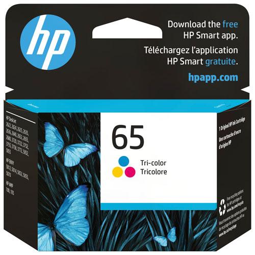 HP 65 Tri-Colour Ink Cartridge