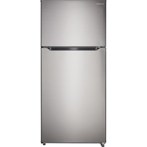 Insignia 30 18 Cu Ft Top Freezer Refrigerator Ns Rtm18ss7 Stainless Steel Only At Best Buy Best Buy Canada