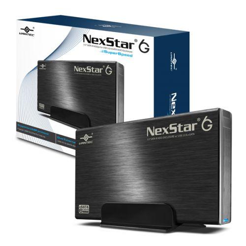 """VANTEC NEXSTAR 6G eSATA/USB3.0 """"BLACK"""" 3.5"""" HDD ENCLOSURE"""