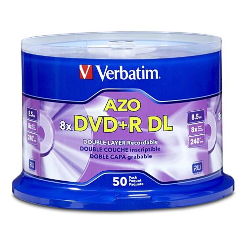 VERBATIM 50-Pack DVD -