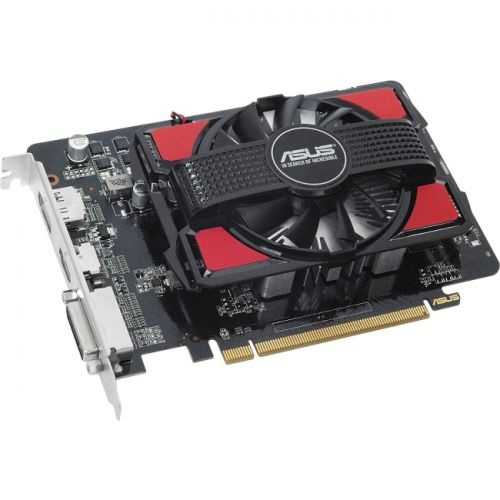 Asus R7250-1GD5-V2 Radeon R7 250 Graphic Card - 725MHz Core - 925MHz Boost Clock - 1GB GDDR5 - PCI Express 3.0