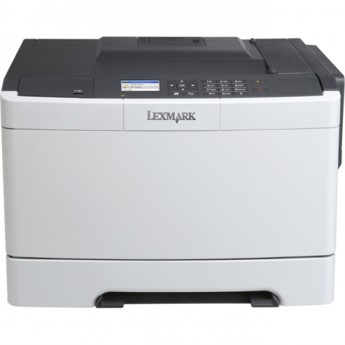 Lexmark CS410DN Laser Printer - Color - 2400 x 600 dpi Print - Plain Paper Print - Desktop