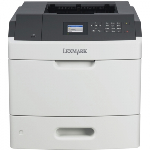 Lexmark MS710DN Laser Printer - Monochrome - 600 x 600 dpi Print - Plain Paper Print - Desktop