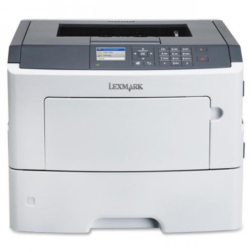 Lexmark MS610DN Laser Printer - Monochrome - 1200 x 1200 dpi Print - Plain Paper Print - Desktop