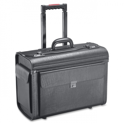 Holiday SA0801 Carrying Case (Roller) for Notebook, File Folder - Black
