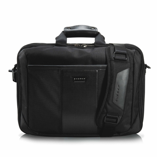 Everki Versa Premium Carrying Case (Briefcase) for 16 inch Notebook, iPad, Digital Text Reader, Tablet PC - Black