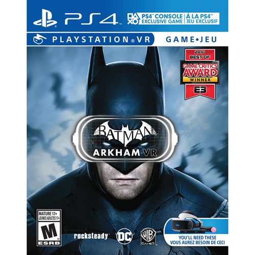ad36be63b Batman  Arkham VR for PlayStation VR (PS4)   PS4 Games - Best Buy Canada