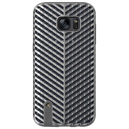 STI:L Kaiser Samsung Galaxy S7 edge Fitted Soft Shell Case - Silver