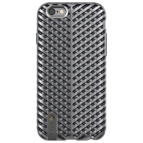 STI:L Kaiser iPhone 6/6s Fitted Soft Shell Case - Silver