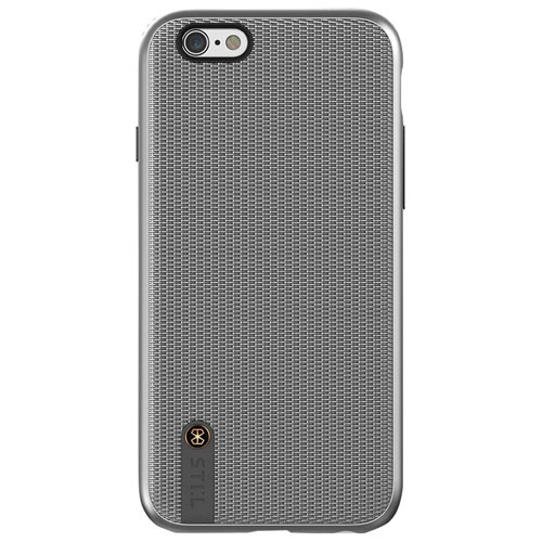 STI:L Chain Veil iPhone 6/6s Fitted Soft Shell Case - Silver