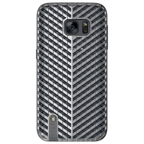 STI:L Kaiser Samsung Galaxy S7 Fitted Soft Shell Case - Silver
