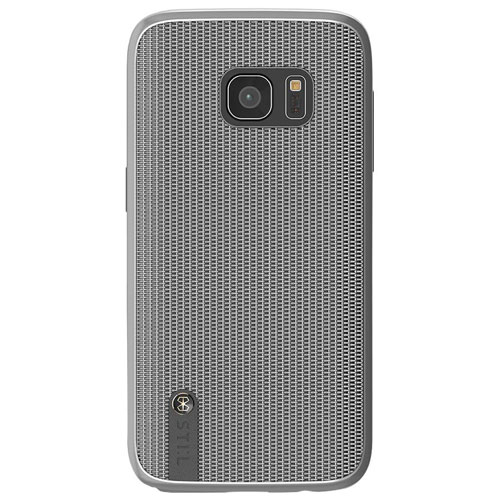 STI:L Chain Veil Samsung Galaxy S7 Fitted Soft Shell Case - Silver