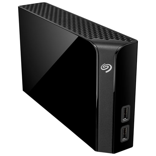 Dispositif de stockage externe USB 3.0 de 4 To Backup Plus Hub de Seagate (STEL4000100)