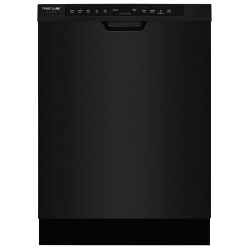 "Frigidaire Gallery 24"" 54dB Built-In Dishwasher (FGCD2444SB) - Black"