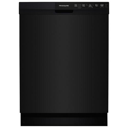 Lave-vaisselle encastrable de 24 po, 55 dB de Frigidaire (FFBD2412SB) - Noir