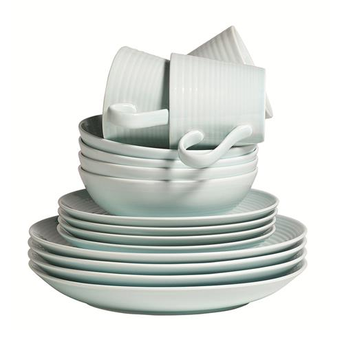 Gordon Ramsay MAZE 16 Piece Dinner Set - BLUE