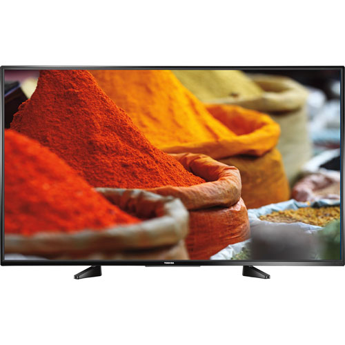 "Toshiba 55"" 1080p LED Smart TV (55L421U) - Only at Best Buy - Open Box"