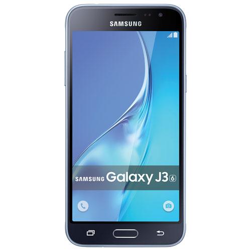Virgin Mobile Samsung Galaxy J3 16GB Smartphone - Black/Grey - 2 Year Silver Plan