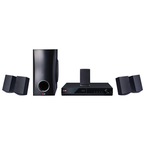 LG BH5140S 5.1 Channel 3D Blu-ray Home Theatre System
