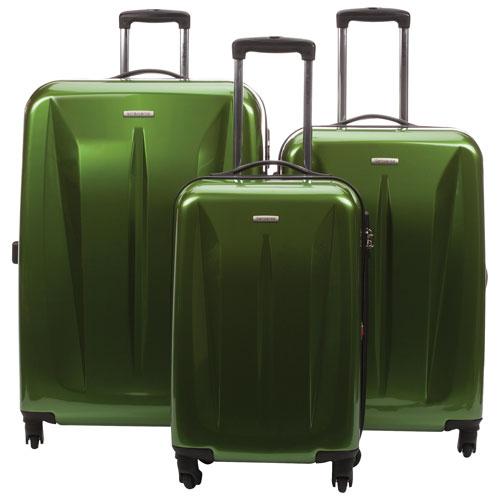 samsonite luggage green
