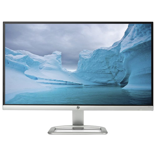 "HP 25"" 60Hz 7ms LED Monitor (T3M84AA#ABA) - White"