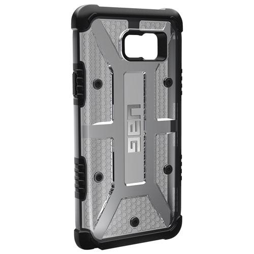 Étui à coque rigide ajusté de UAG pour Galaxy Note 5 - Gris-noir
