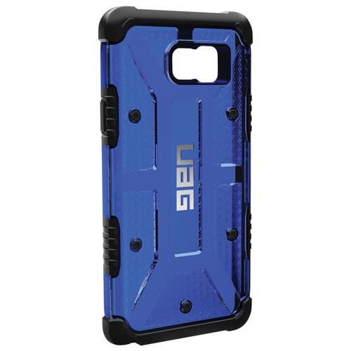 Étui à coque rigide ajusté de UAG pour Galaxy Note 5 - Bleu-noir