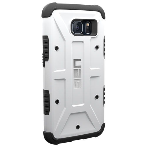 UAG Galaxy S6 Fitted Hard Shell Case - White/Black