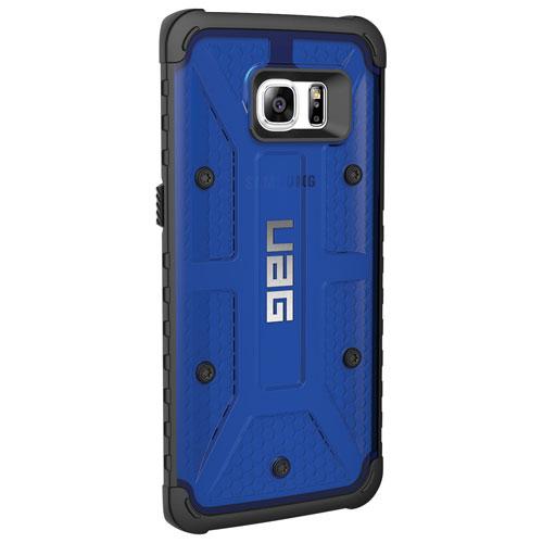 Étui rigide ajusté d'UAG pour Galaxy S7 edge de Samsung - Bleu-noir