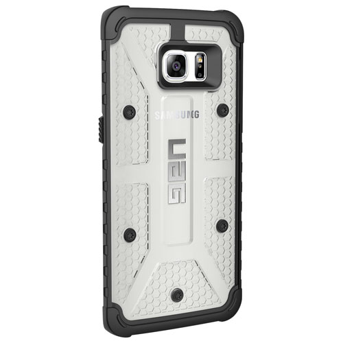 UAG Samsung Galaxy S7 edge Fitted Hard Shell Case - Clear/Black