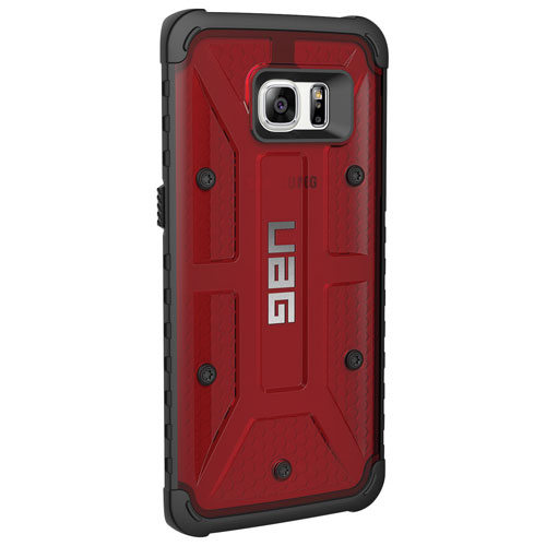 UAG Samsung Galaxy S7 edge Fitted Hard Shell Case - Red/Black