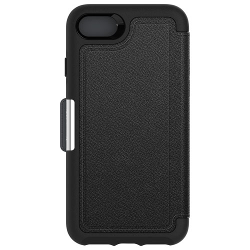 OtterBox Strada iPhone 7/8 Leather Folio Case - Black