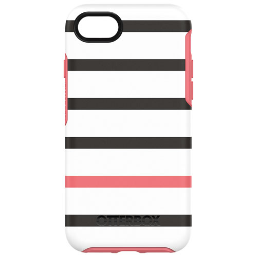 OtterBox Symmetry iPhone 7/8 Fitted Hard Shell Case - Graphic Pink